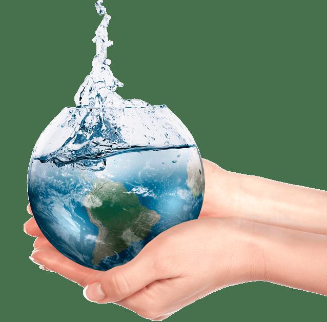 Mano Bola Transparente Almar Water Solutions