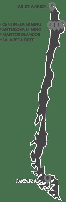 Mapa Chile Peq V