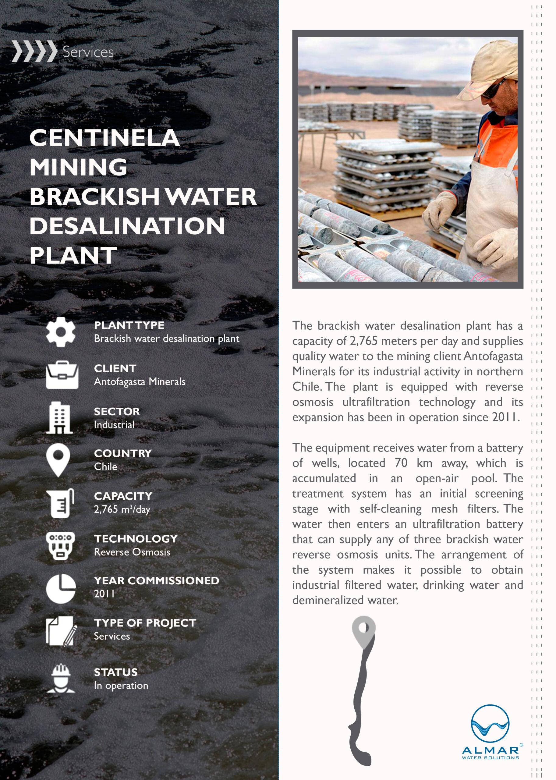 Centinela Mining Sheet